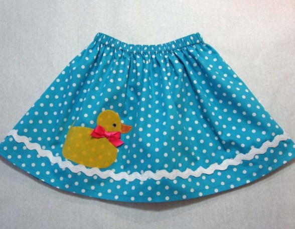 Sewing Tutorial For The Duckie Skirt Free Pattern Felicity Sewing