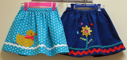 Duckie Skirt PDF Pattern cropped