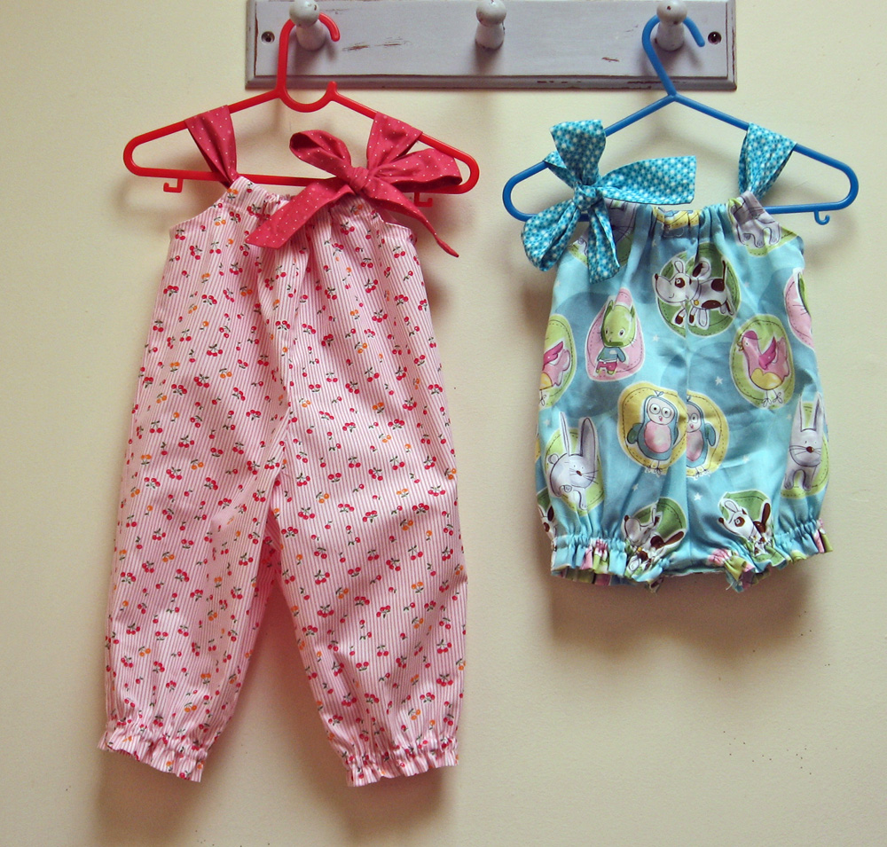 Pretty Baby Romper pattern adjustments for long leg ...